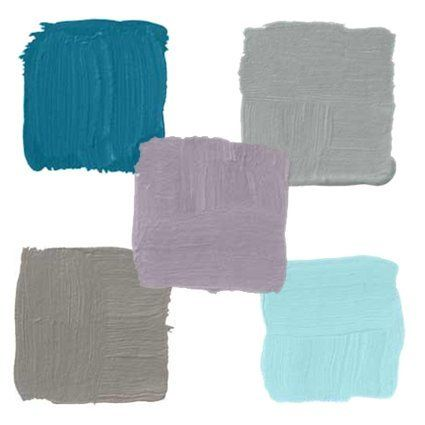 Color Chips Hot Paint Colors For 2010 Bedroom Turquoise
