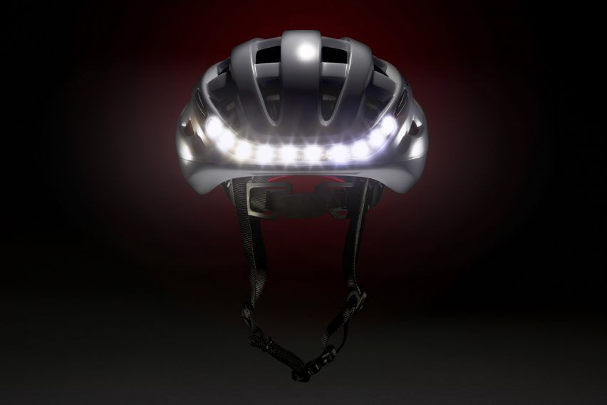 A pair of engineers have designed a bike helmet that uses