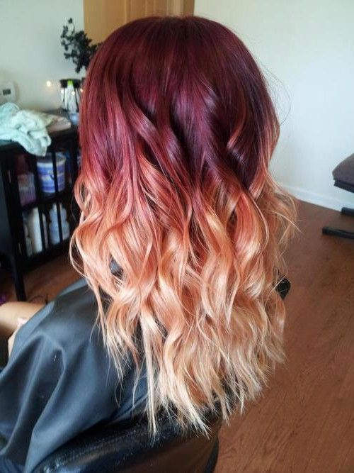 Ombre Highlights For Short Hair Ombre Hairstyles Ombre