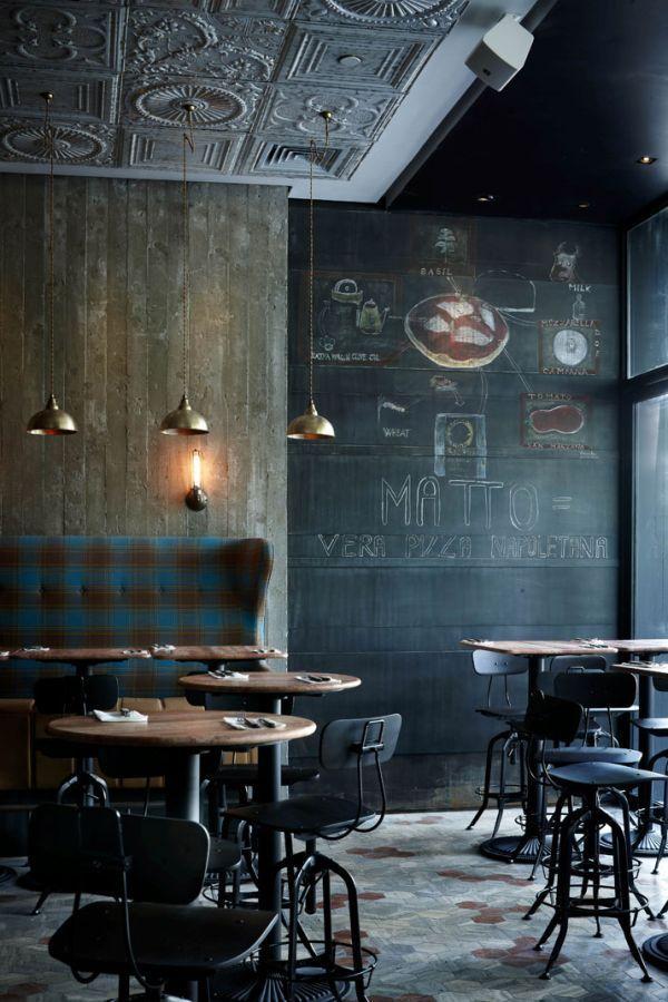 Italian Restaurant Matto Uses An Unapologetic Clash Of Decor Styles