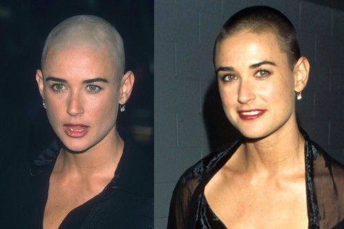 Something demi moore shaved with daughters opinion