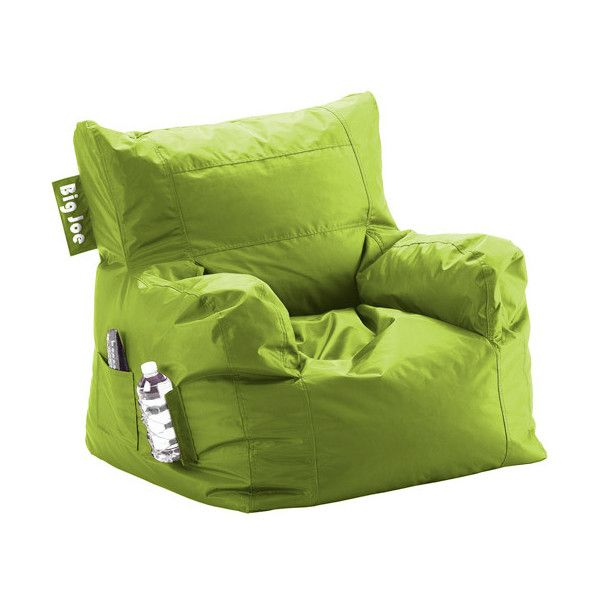 Walmart Big Joe Dorm Bean Bag Chair Green Flash Kids