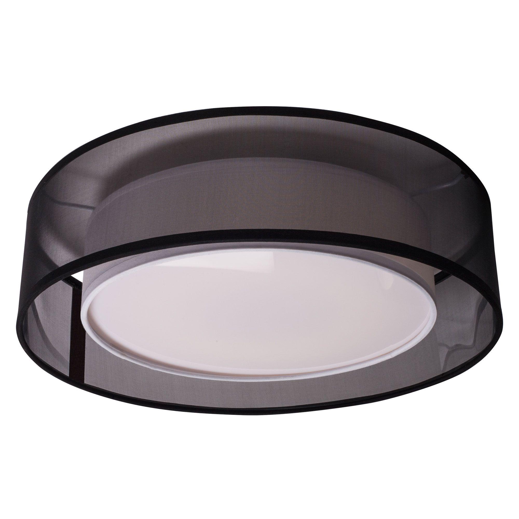 Covina Round Ceiling Light Fixture By Kuzco Lighting Fm11415 Bk