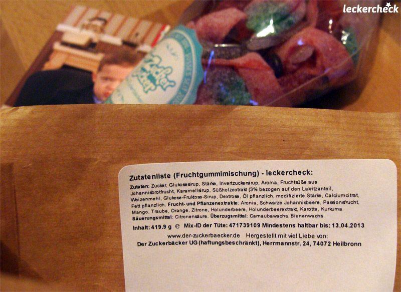 Personalized candy from Der Zuckerbäcker