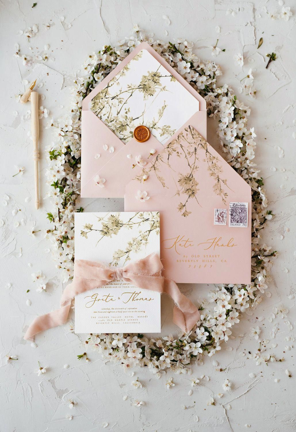 The Best Spring Floral Pastel Wedding Invitations In 2018 Best