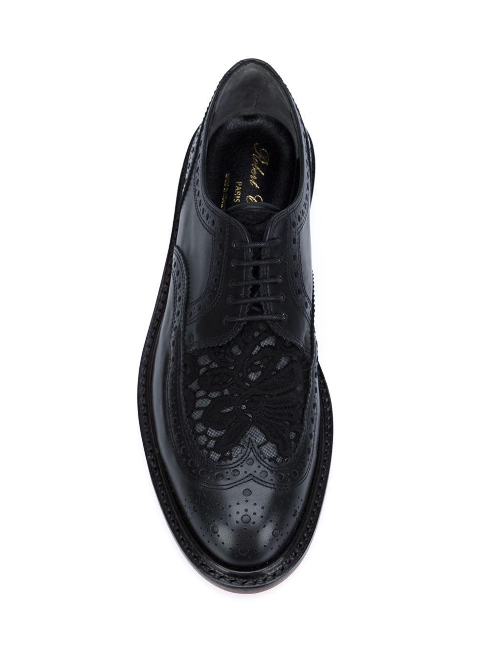 ca510187de1 Robert Clergerie lace detail brogues   Men's shoes   Brogues, Oxford ...