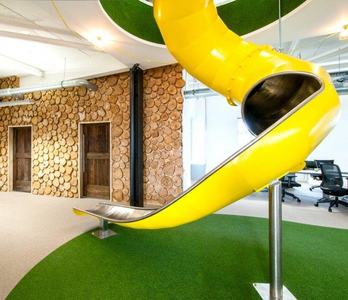 Slide Into Peer 1 Hosting's European Headquarters