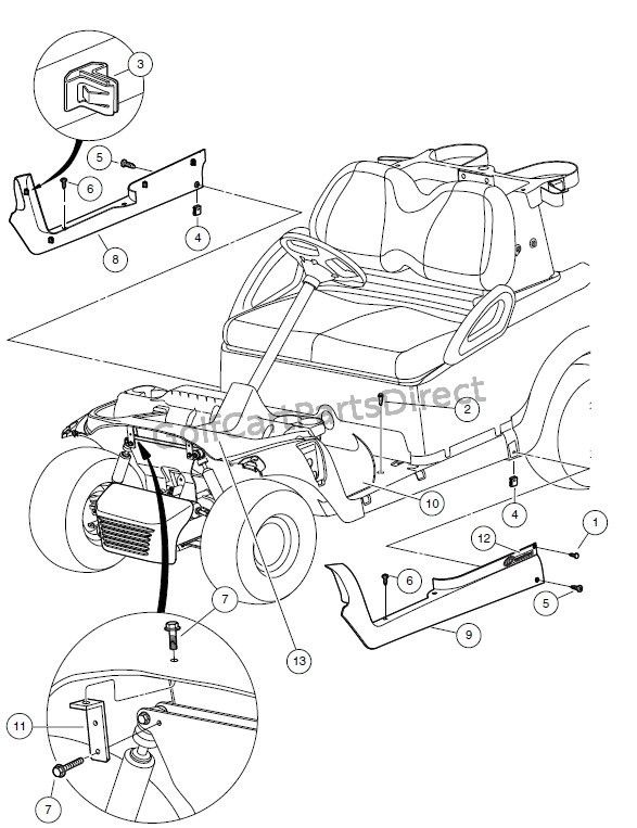 Pin on Golf Cart (Club Car)