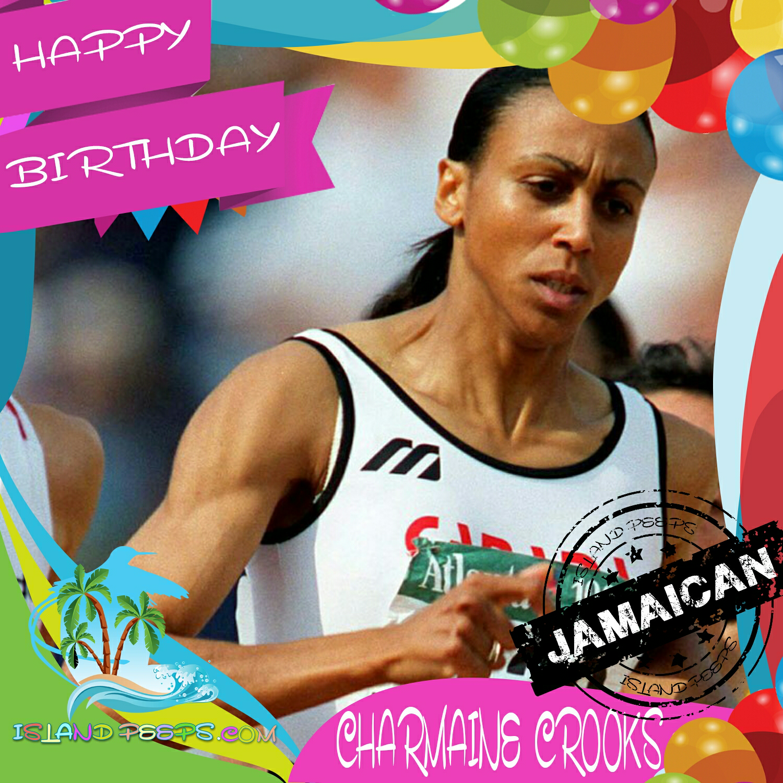 Happy Bday #CharmaineCrooks! Canadian Five-time Olympian was born in Jamaica! #islandpeeps #islandpeepsbirthdays