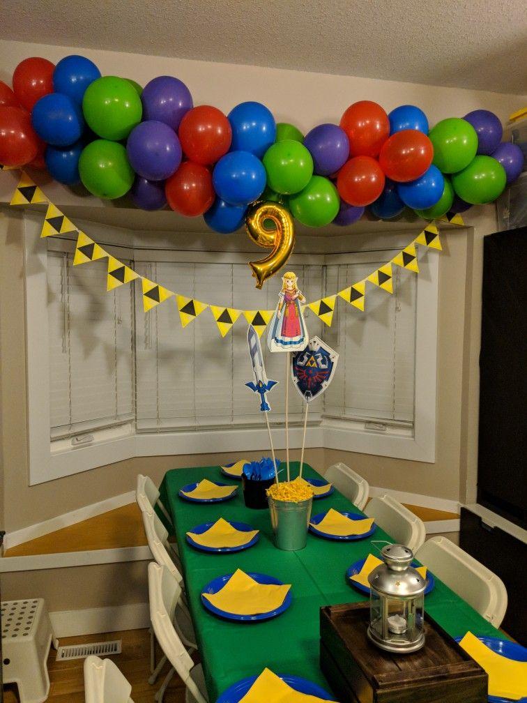 Legend Of Zelda Birthday Party