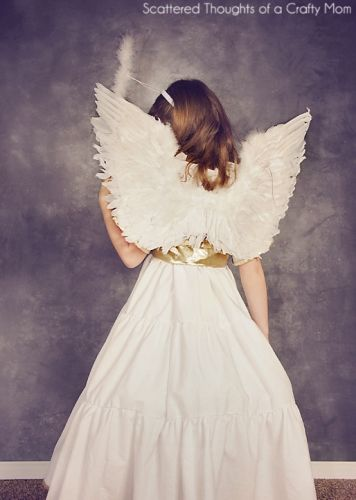 Download Angel Costume Sewing Pattern (FREE) | Manualidades ...