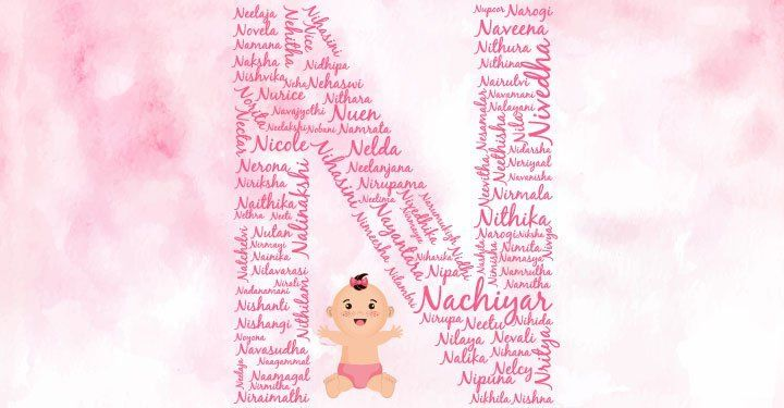 Baby Girl Names Starting With N in 2020 | Baby girl names ...