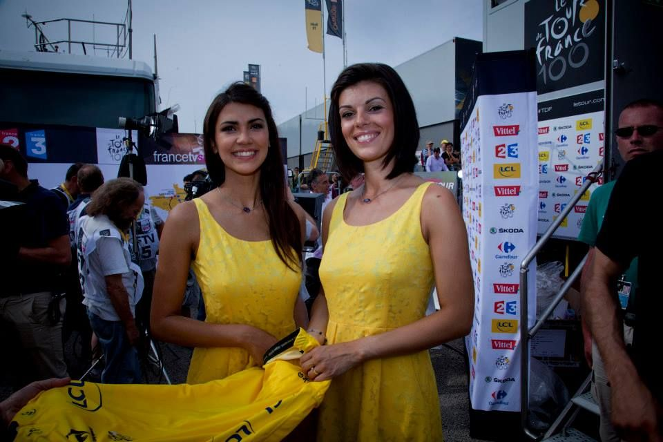 Tour De France Podium Girls 2013 At The Podium Tour De France