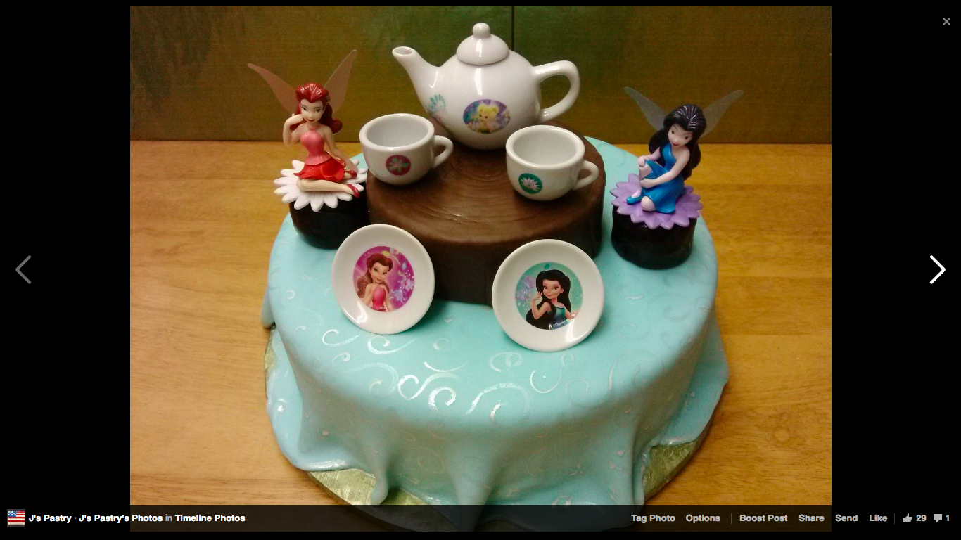 Tea Party Cake By J S Pastry Shop In Pensacola Fl Birthday And