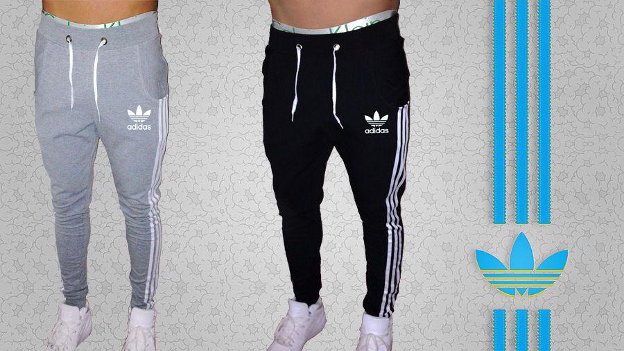 Pantalon Babucha Adidas Hombre Jogging Deportivo Semi Chupin 300 00 Pantalones Jogging Mujer Ropa Adidas Hombre