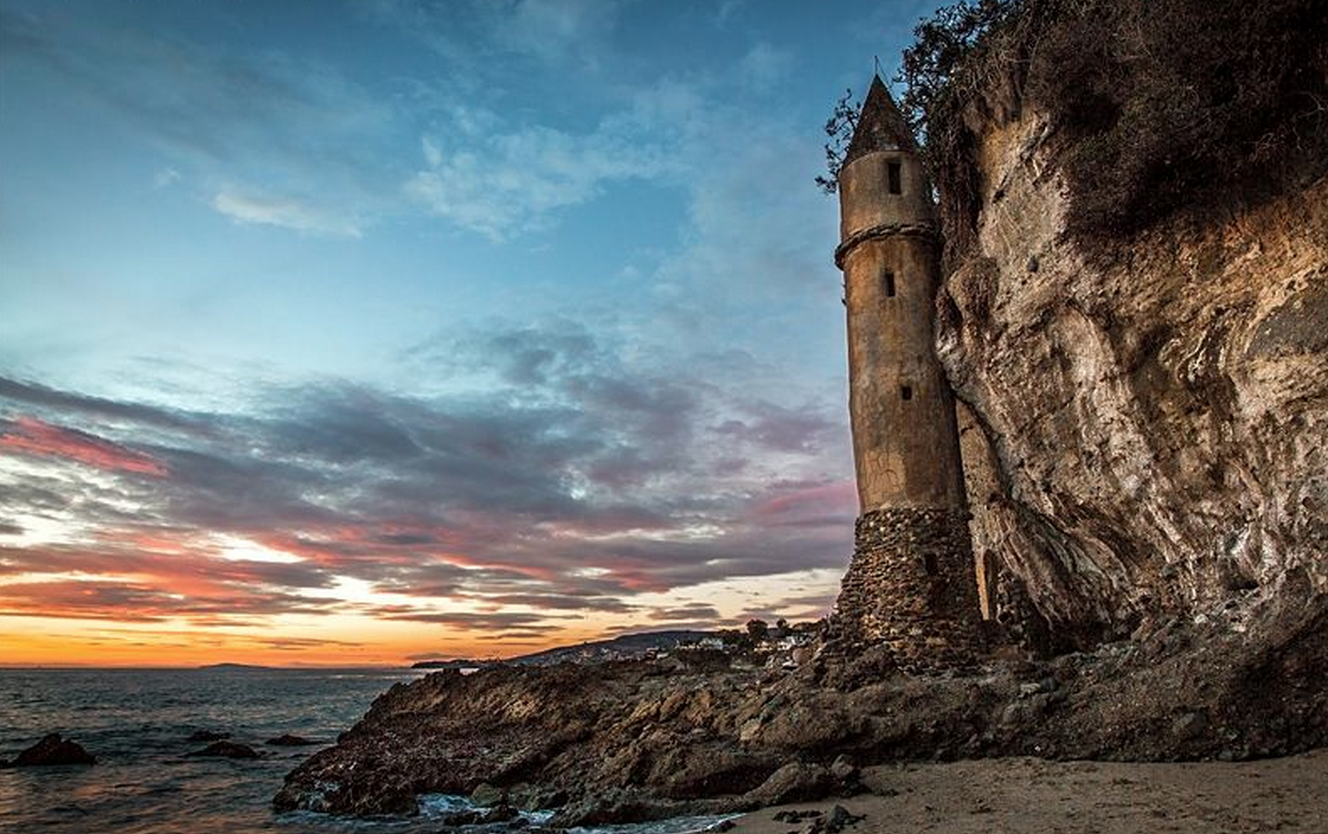 Victoria Beach Tower in Laguna Beach. Visit www.xplorela.com for more info.