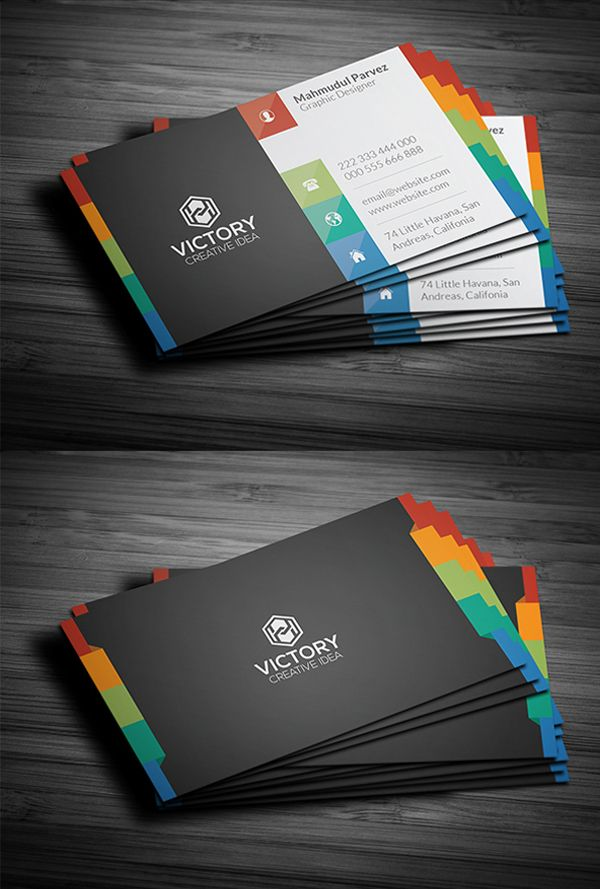 Corporate Creative Business Card Psd Templates Design Graphic Design Junction Business Cards Creative Professional Business Card Design Business Card Design Creative