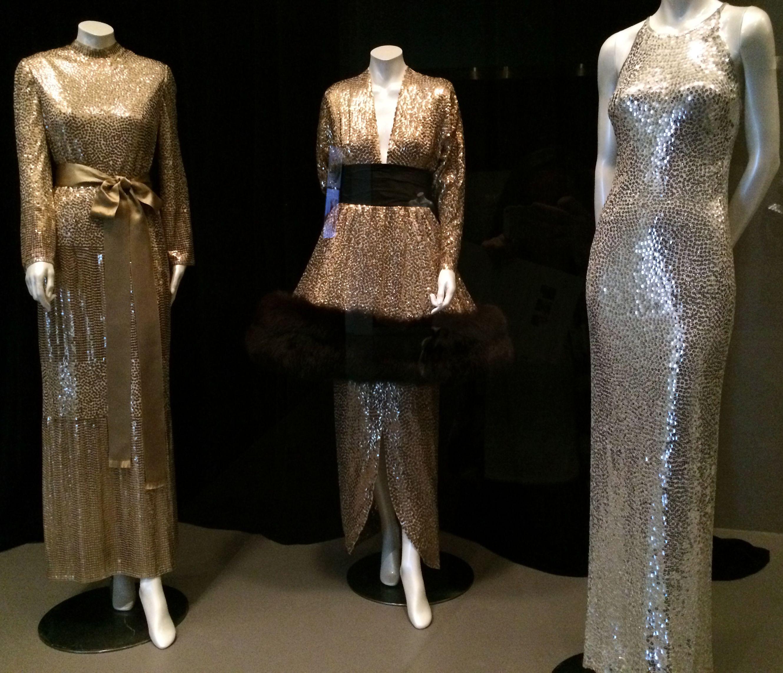 Norman Norell - Robes de Soirée - de gauche à droite, 1967, 1971, 1960