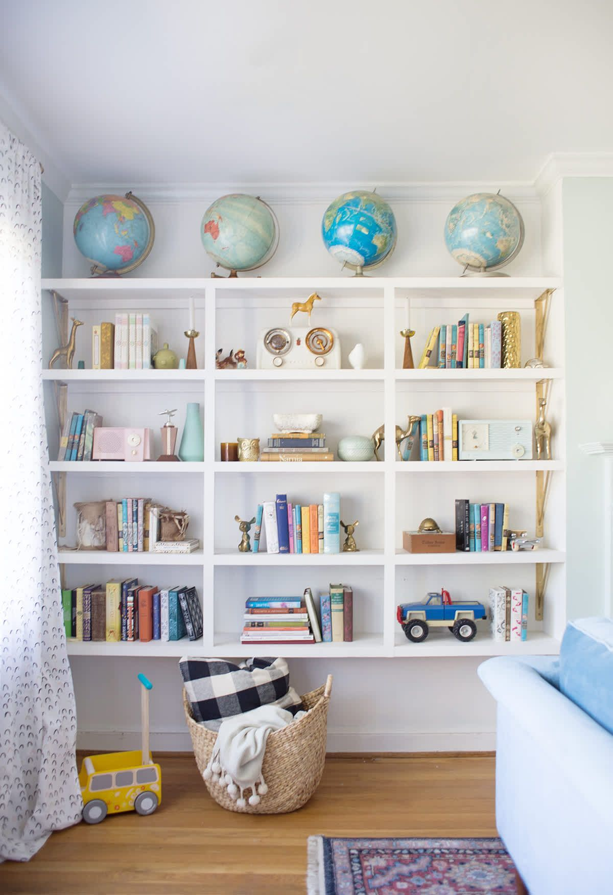Kid Friendly Living Room Inspiration