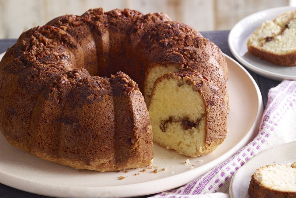 Moist Sour Cream Coffee Cake Recipe in 2020 (With images