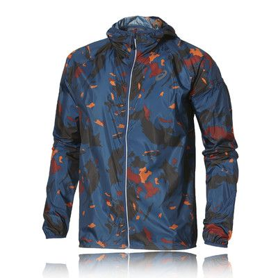 asics packable jacket Brown