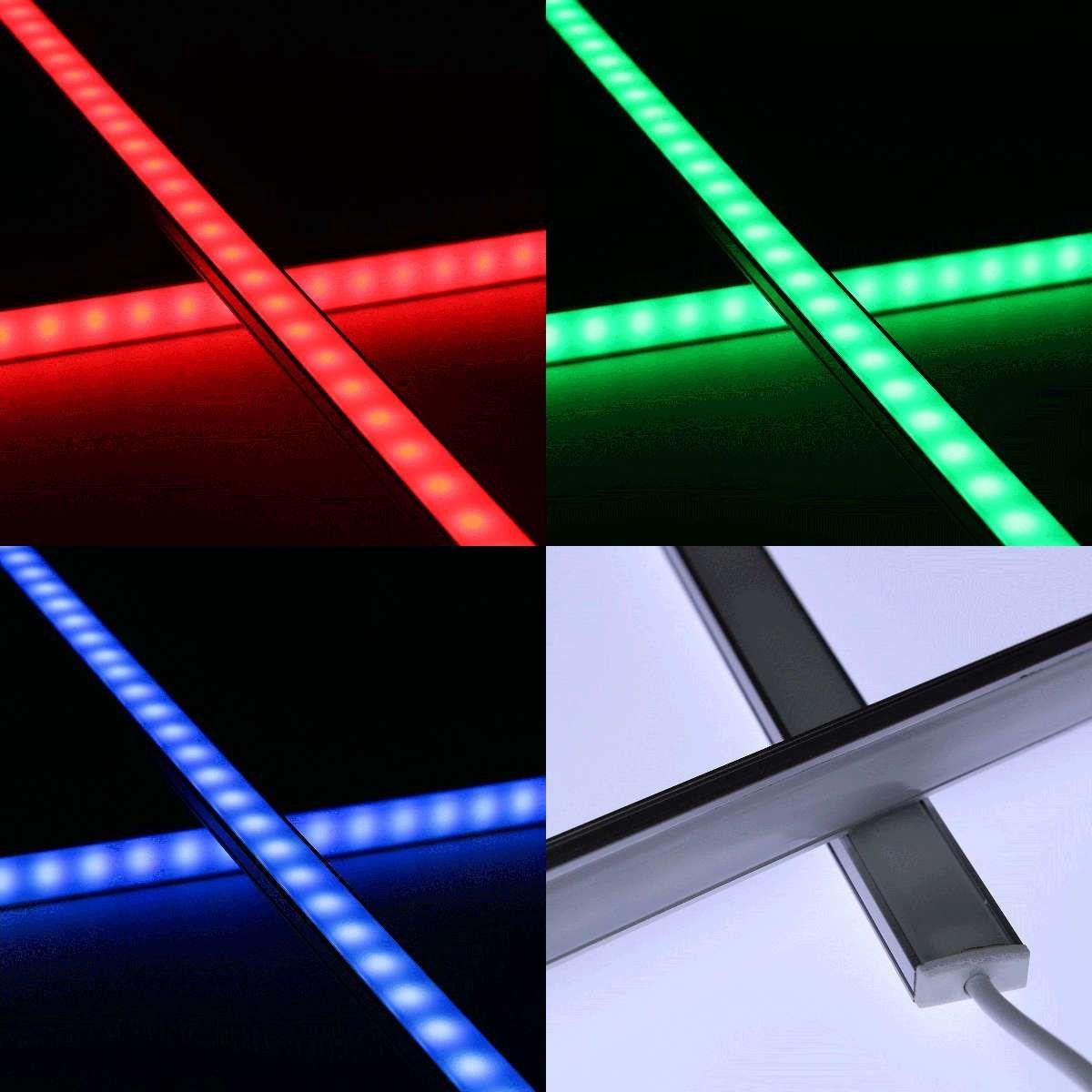 Beleuchten Sie Raume Hintergrunde Oder Objekte Farbig Oder In Warmweiss Auch Verschieden Wechselnde Farbenspiele Konnen D In 2020 Einbauleuchten Led Led Lichtleiste
