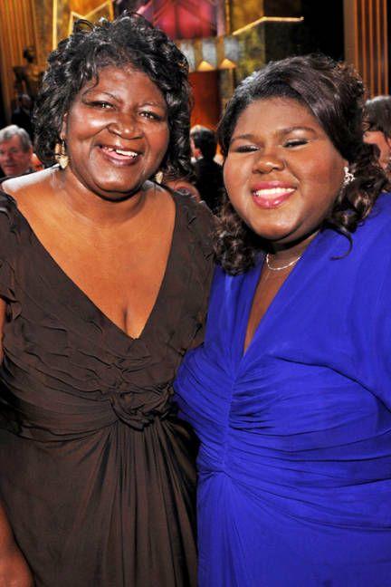 2010~Gabourey Sidibe & Mom