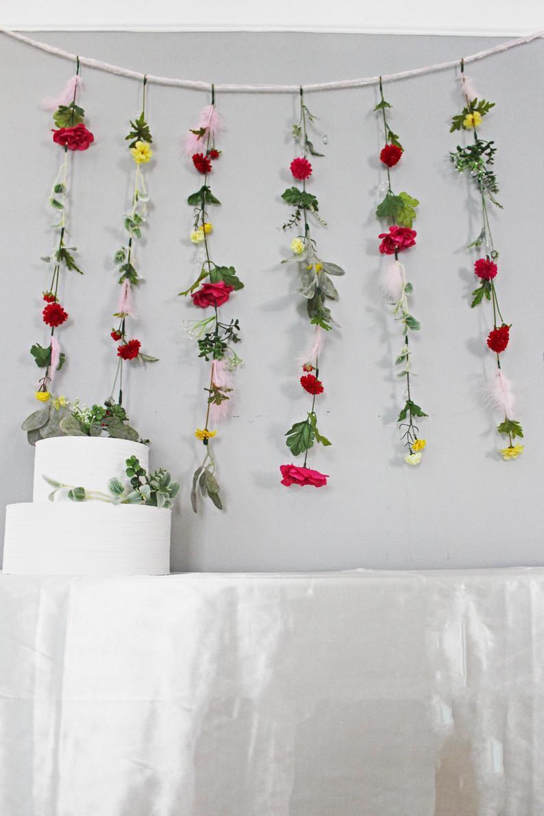 Flower Garland Wedding Flower Garland, Hanging Flower