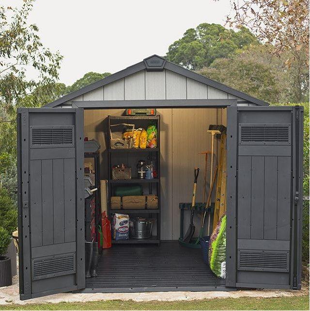 abri de jardin castorama resine Abri de jardin Castorama, achat Abri de jardin résine KETER Oakland 757  4,04m²