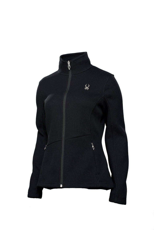 Spyder Women's Endure Full Zip Mid Weight Core Sweater Jacket Black Small XS | eBay