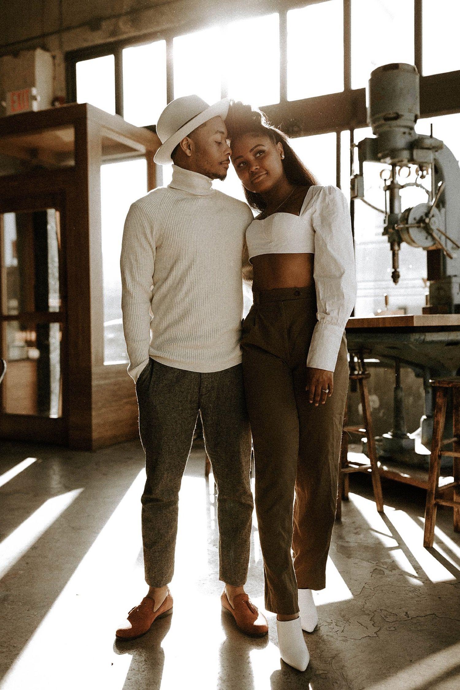 Portland Engagement Photographer Coffee Lovin Couple