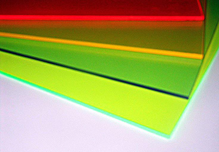 Metacrilato fluorescente