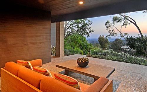 Mid-Century Modern House Lounge (Los Angeles, CA)