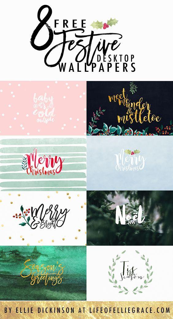 8 FREE Christmas Desktop and iPad Wallpapers