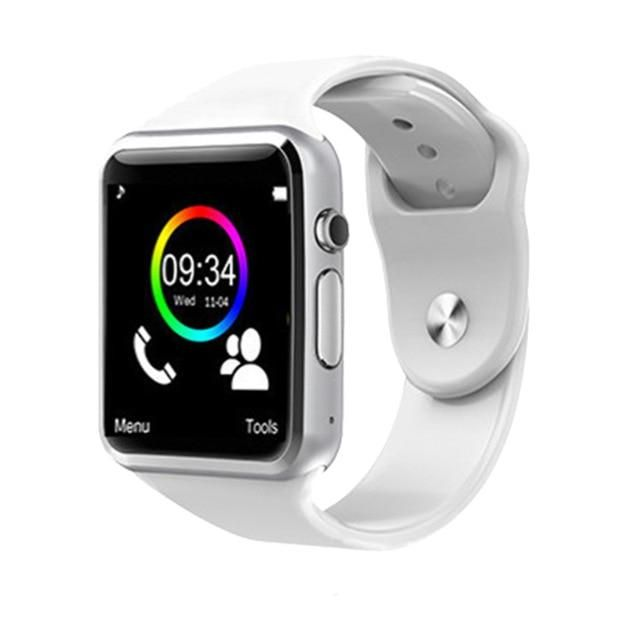 Qaqfit Bluetooth Smart Watch A1 For Apple Iphone Ios Android Phone