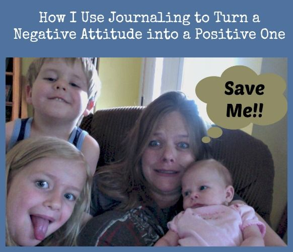 How I use journaling to change my bad attitude....