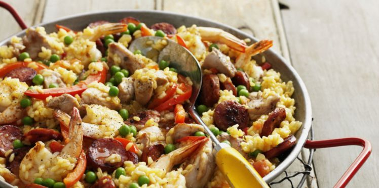 Paella Royale Recipe Cuisine Food Mediterranean Recipes