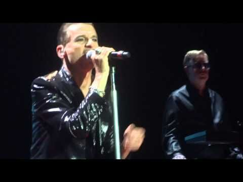 Depeche Mode Welcome To My World Dublin 2013 Depeche Mode Moving Pictures My World