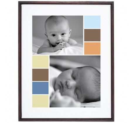 FingerPrintPress Soft Graphics - Framed Poster - Wall Art