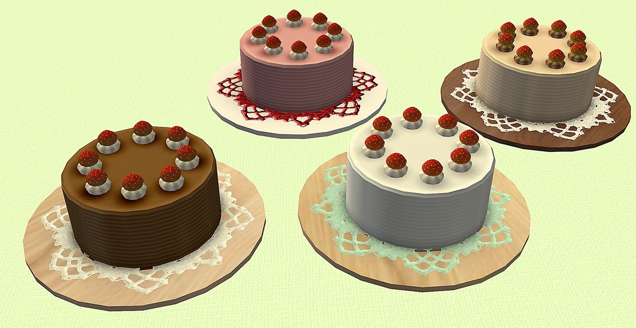 Sims Influence Birthday Gifts 4to2 SIMc Time To Bake