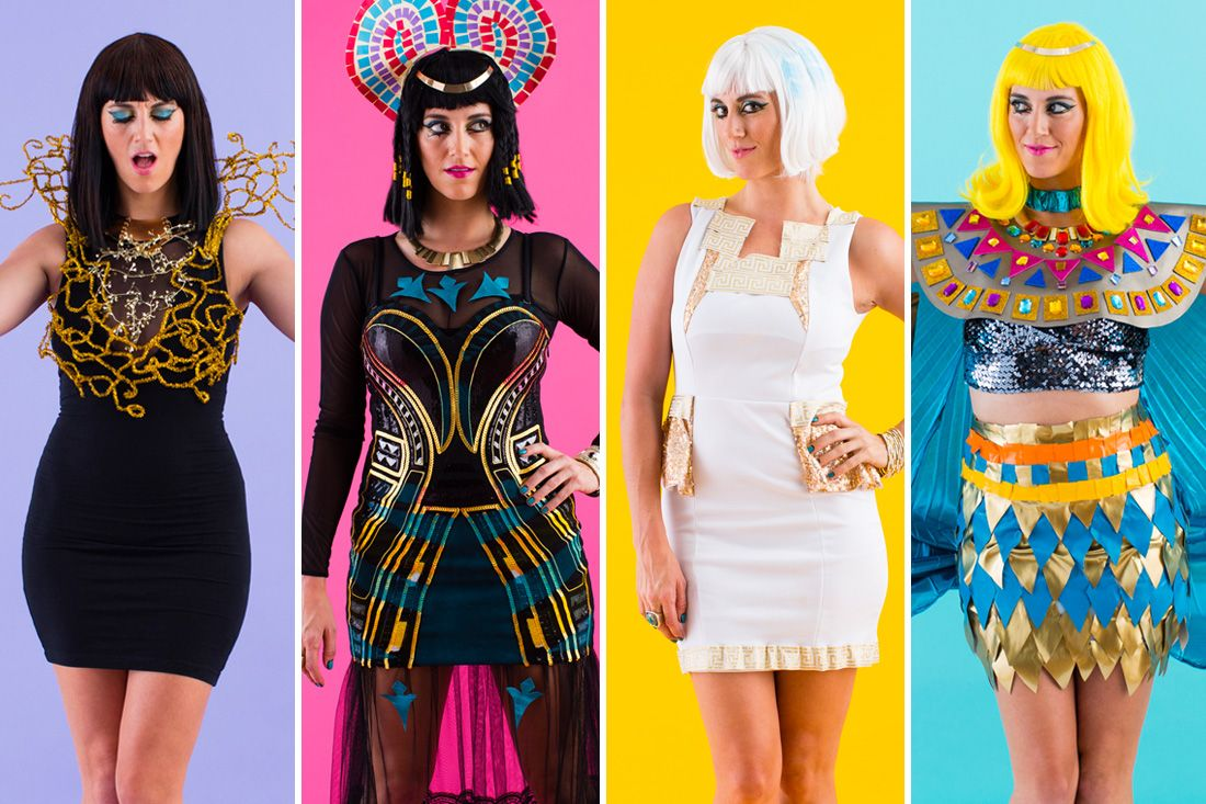 Diy all of katy perrys dark horse video costumes for halloween diy all of katy perrys dark horse video costumes for halloween solutioingenieria Gallery