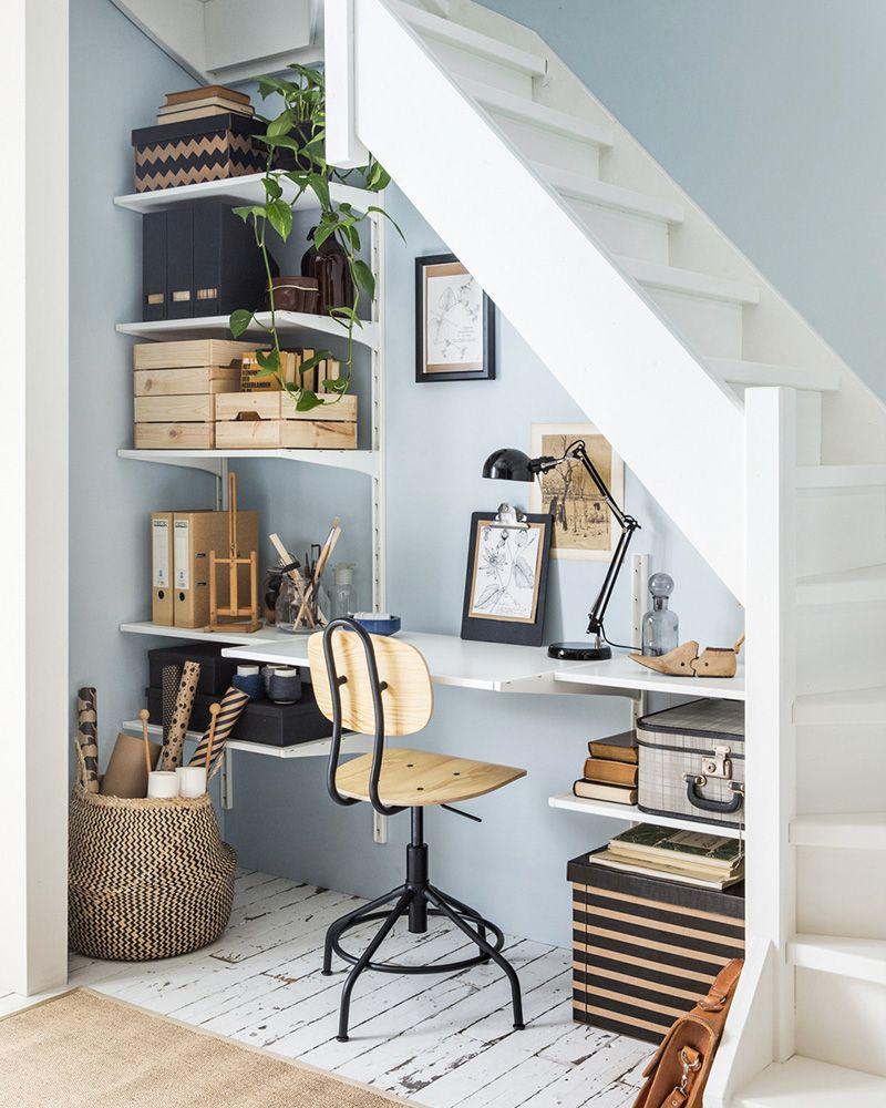 10 idées déco pour aménager le dessous dun escalier