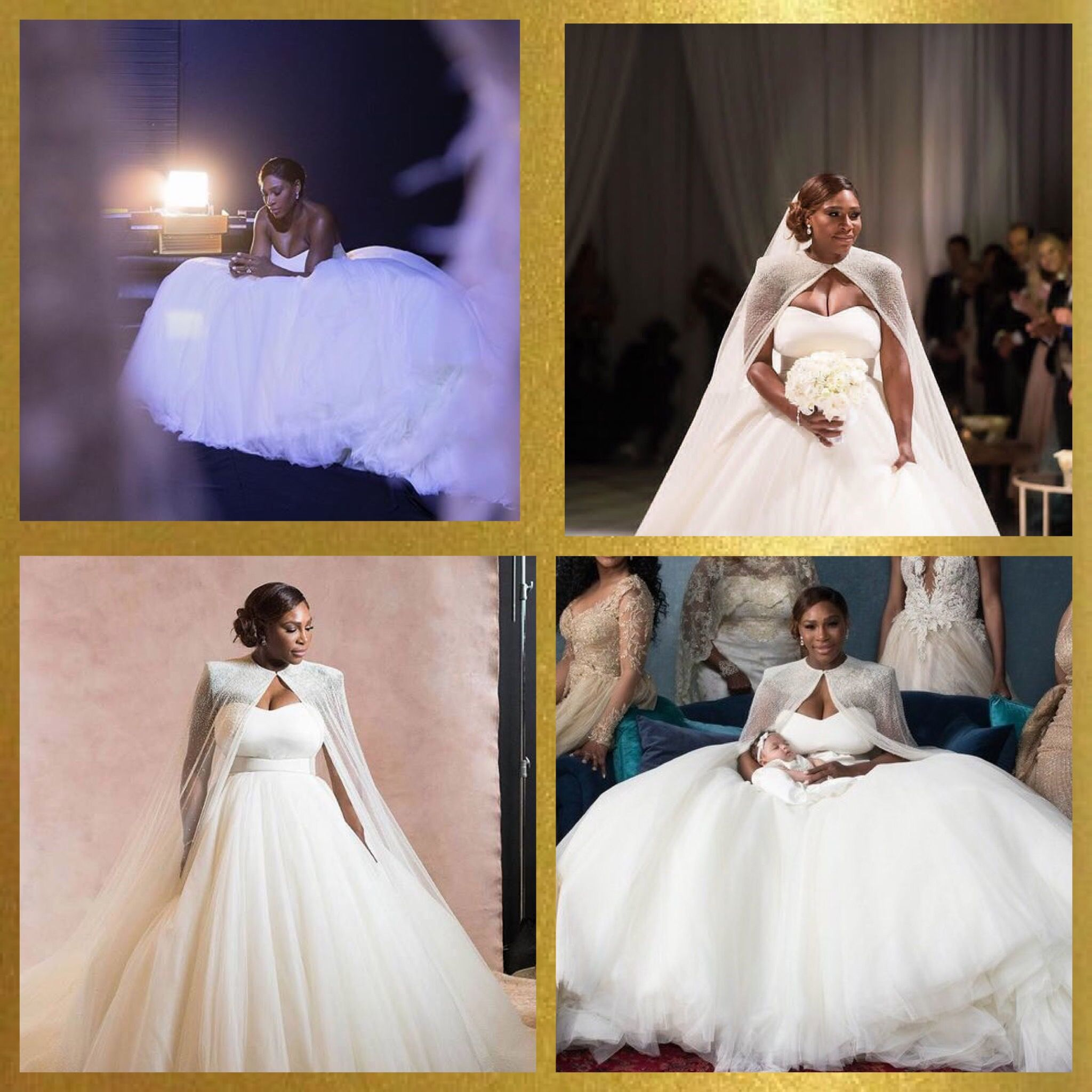 Queen Latifah Wedding Pictures.Serena Williams And Alexis Ohanian Wedding Serena