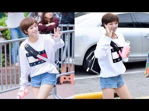 Twice's Jeongyeon - Casual Outfits on Hall KBS Music Bank