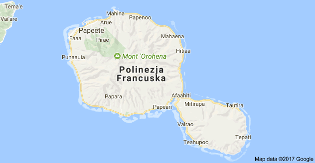 tahiti mapa sveta Mapa: Tahiti, Polinezja Francuska | Oceania   Polinezja Francuska  tahiti mapa sveta