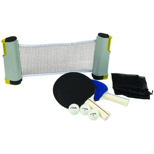 Stiga® Anywhere Retractable-Net Table Tennis Set  $19.99 @ Academy Sports.  Similar versions elsewhere are close to $40 on average.