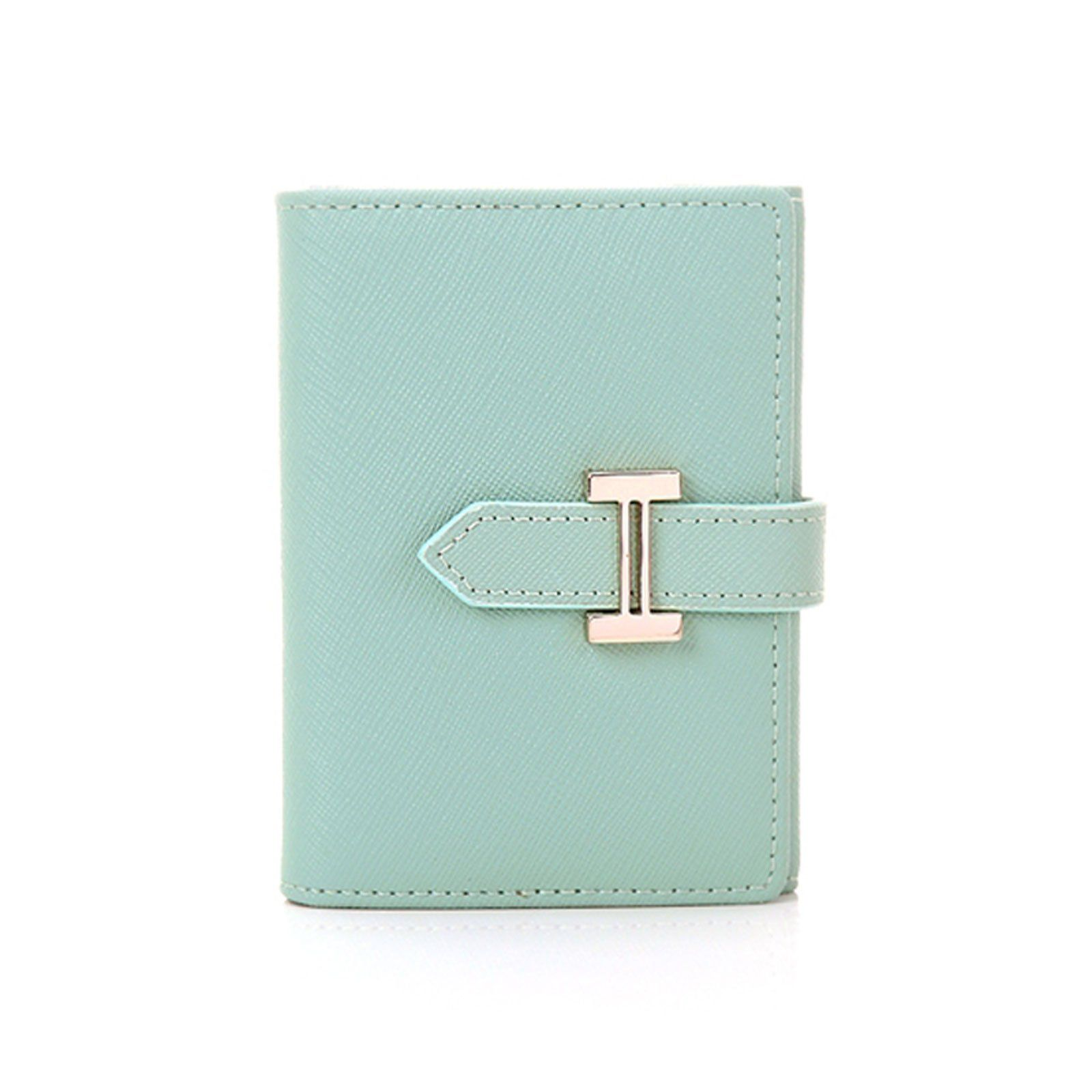 womens genuine leather name card holder card case business card