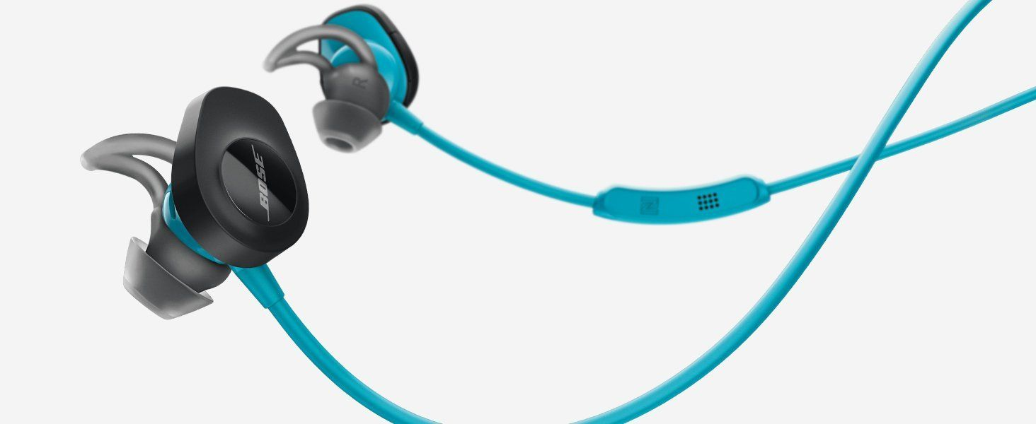 Bose SoundSport Wireless Headphones, Black With no wires in the way ...