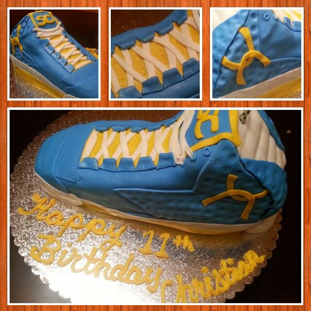 Stephen Curry Shoe Cake Cakesbychristal Cakes Pinterest Curry