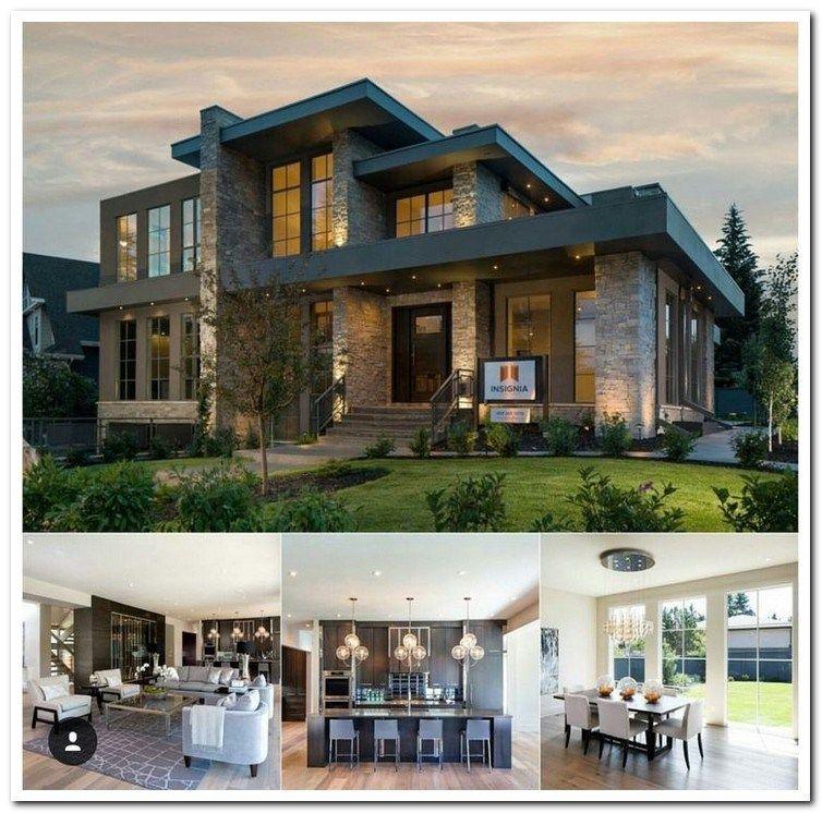 42 Stunning Modern Dream House Exterior Design Ideas 27 Aegisfilmsales Com House Designs Exterior Architecture House House Exterior